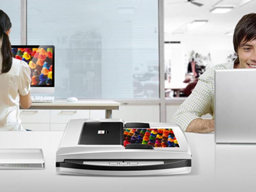 máy scan Plustek SmartOffice PN2040 dễ dàng sử dụng