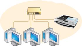 Dùng máy scan Plustek PL2040 để quét các máy tính trong mạng